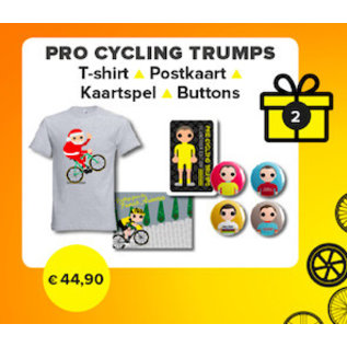 Kerst 2019: Pro Cycling Trumps (dames) XS