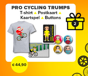 Kerst 2019: Pro Cycling Trumps (dames) XL