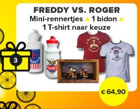 Christmas 2019: Freddy vs Roger (Freddy! XL)