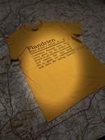 T-Shirt Flandrien (ENG) Small