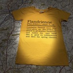 T-shirt Flandrienne (ENG)