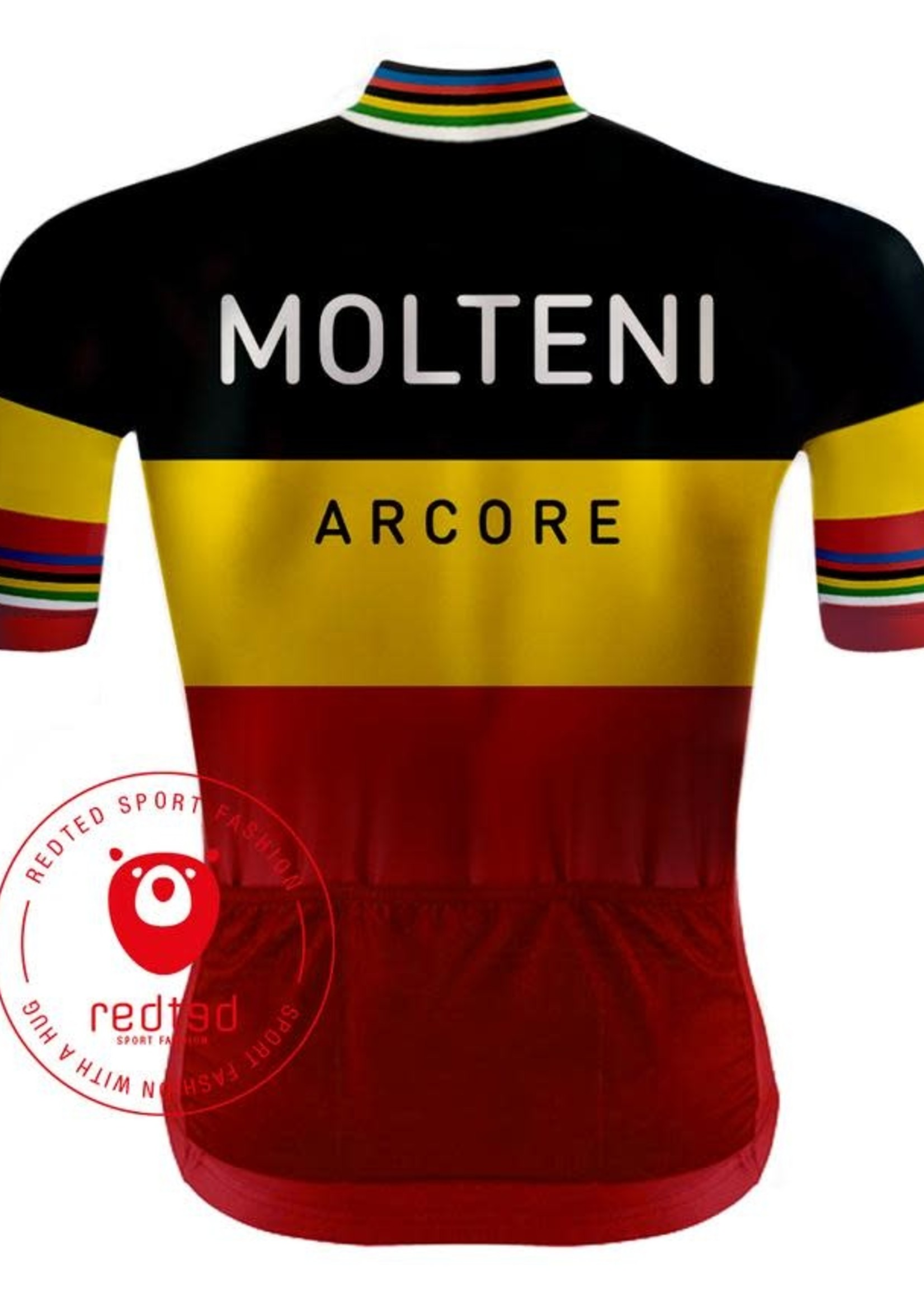 Retroshirt Molteni Belgisch Kampioen
