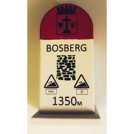 Kilometerpaal Bosberg