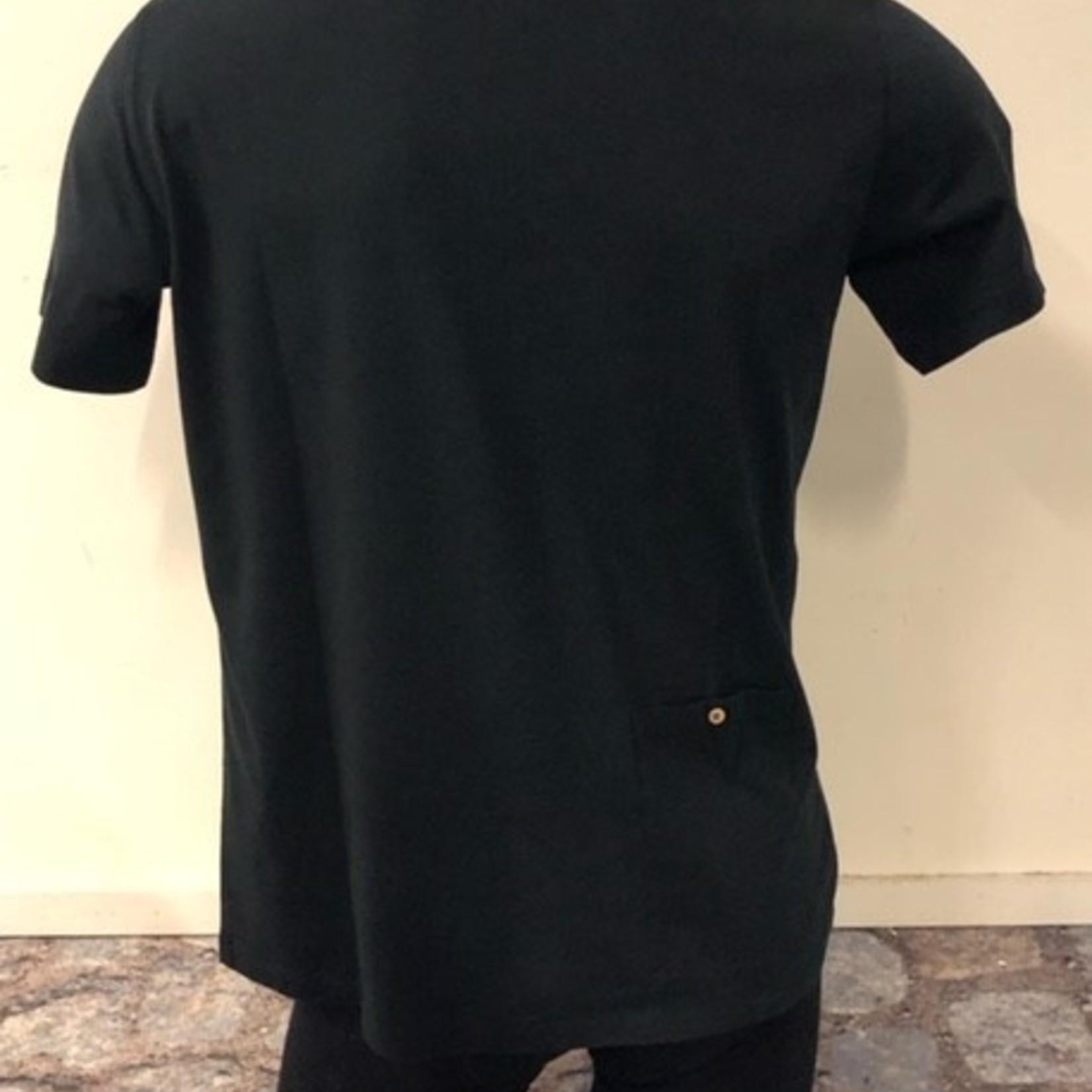 Polo 'Eddy' zwart