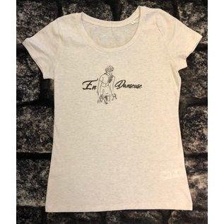 T-shirt 'En Danseuse' beige