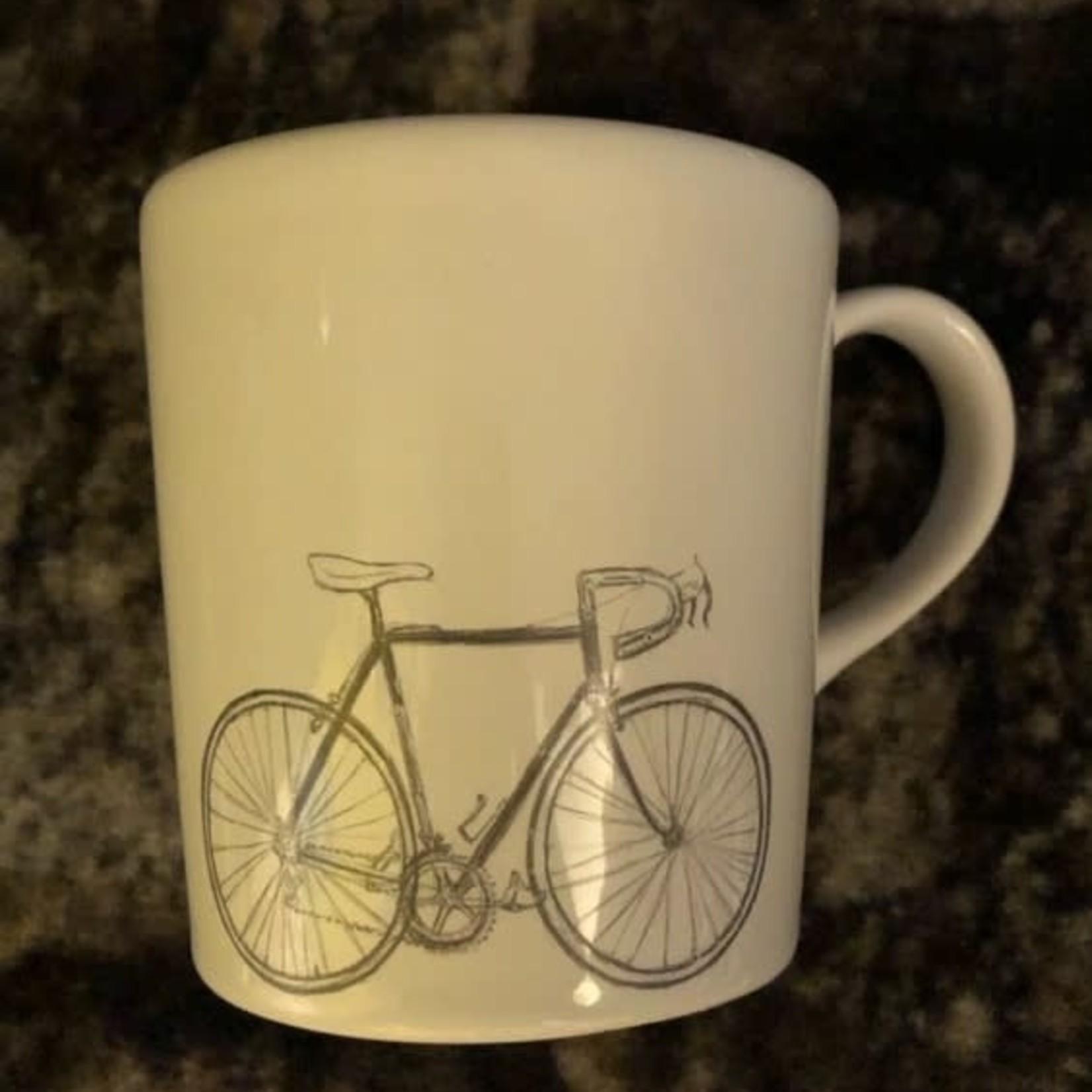 Coffee mug 'bike'  Eddy Merckx ceramics