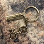 """Keychain """"Riding is the key..."""""""