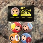 Pro Cycling Trumps Buttons Buysse/Magni/Merckx/Schotte