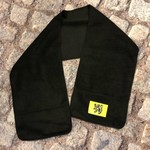 Sjaal zwart met Vlaamse leeuw