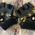 Gloves 'Vlaamse leeuw' black