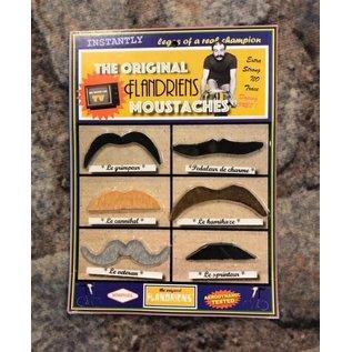 Snor Moustaches Flandrien