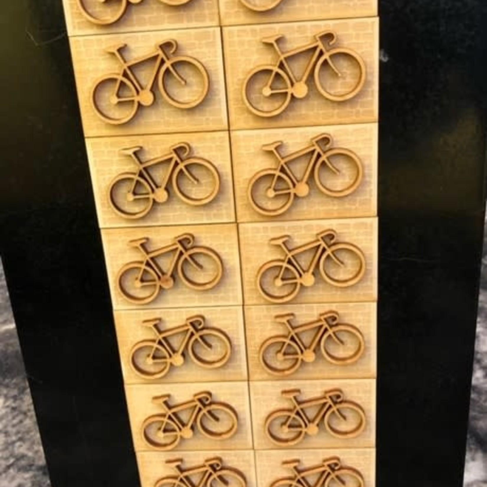 Magnet Bike/Cobble wood