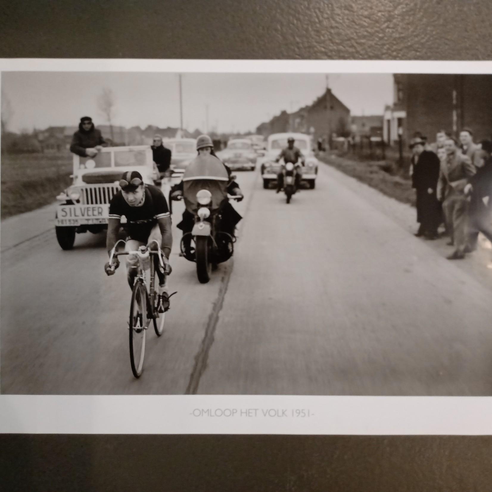 Poster Vintage Omloop Het Volk
