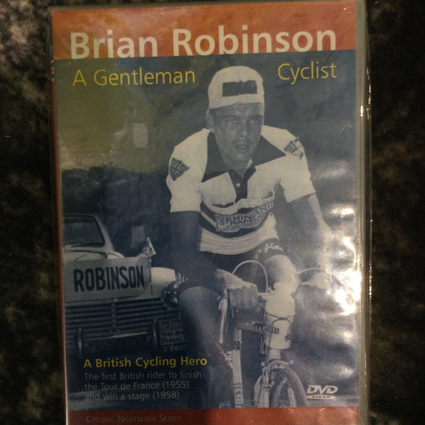 DVD 'Brian Robinson' (ENG)