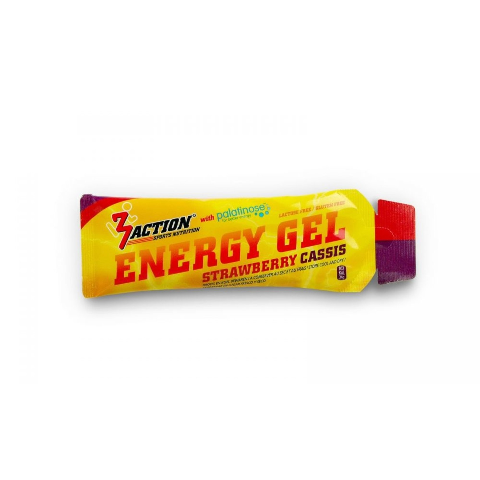 3Action 'Energy Gel (strawberry cassis)'