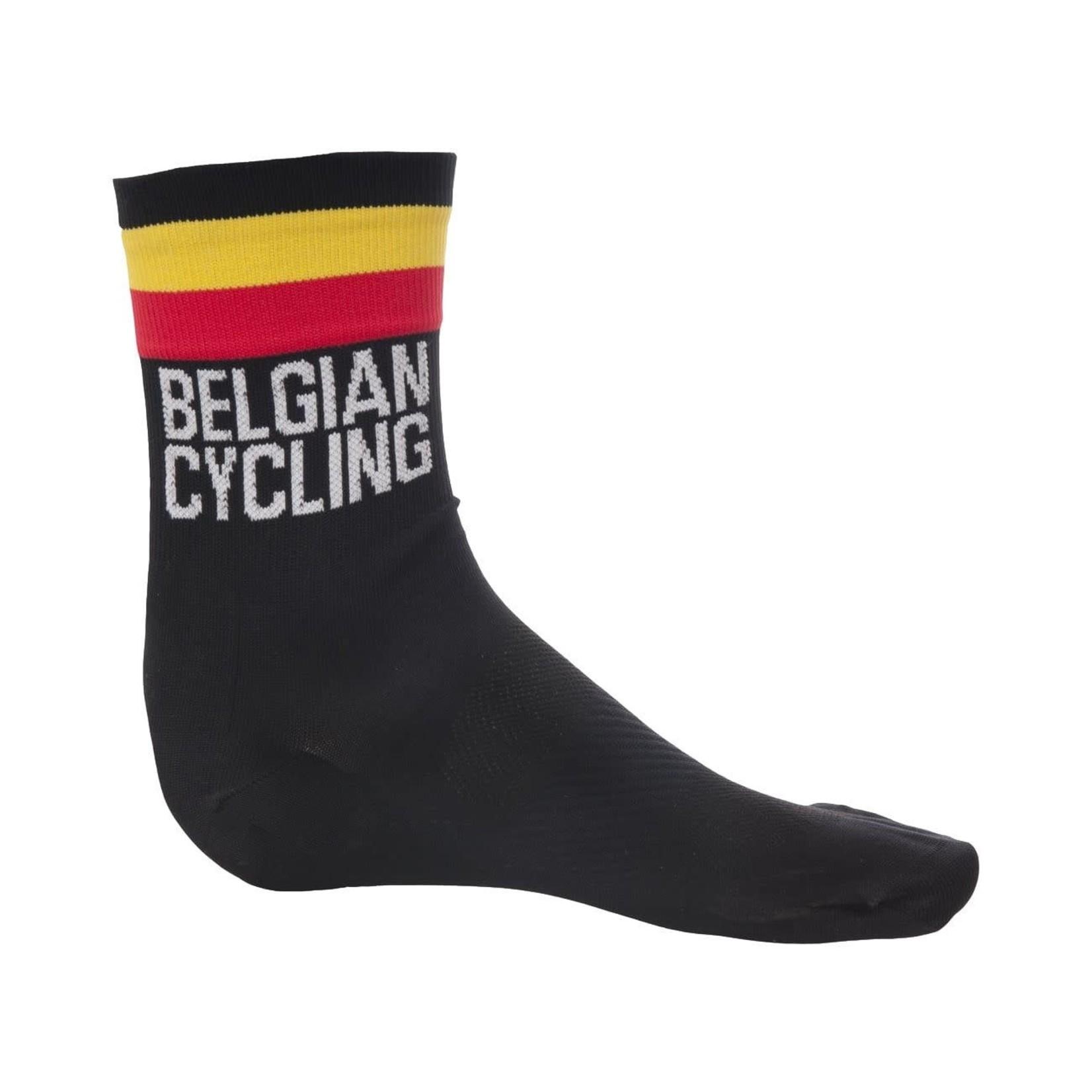 'Belgian Cycling' Team Socks Black