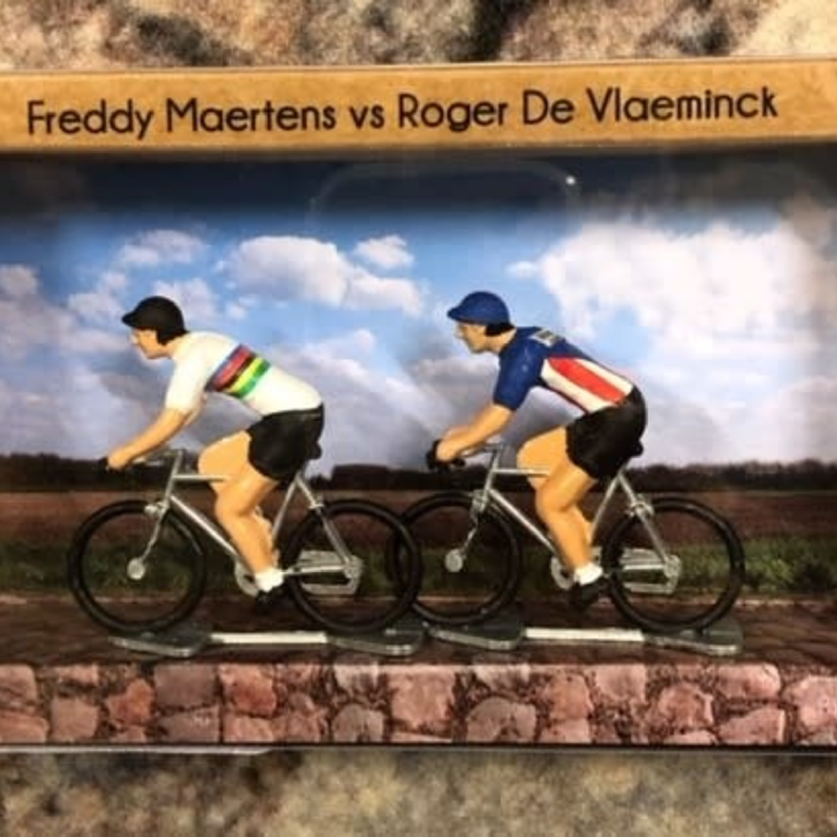 Miniatuurrenners 'Freddy vs Roger'