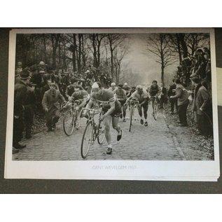 Poster 'Gent-Wevelgem 1957'