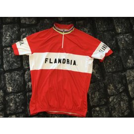 Retroshirt Flandria Wereldkampioen korte mouwen