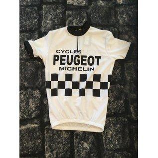 Retroshirt Peugeot Korte mouwen S