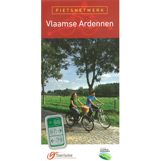 Fietsnetwerk kaart 'Vlaamse Ardennen'