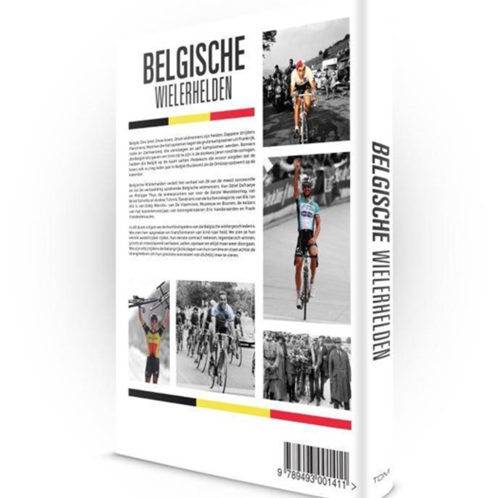 Book 'Belgische Wielerhelden' (NED)