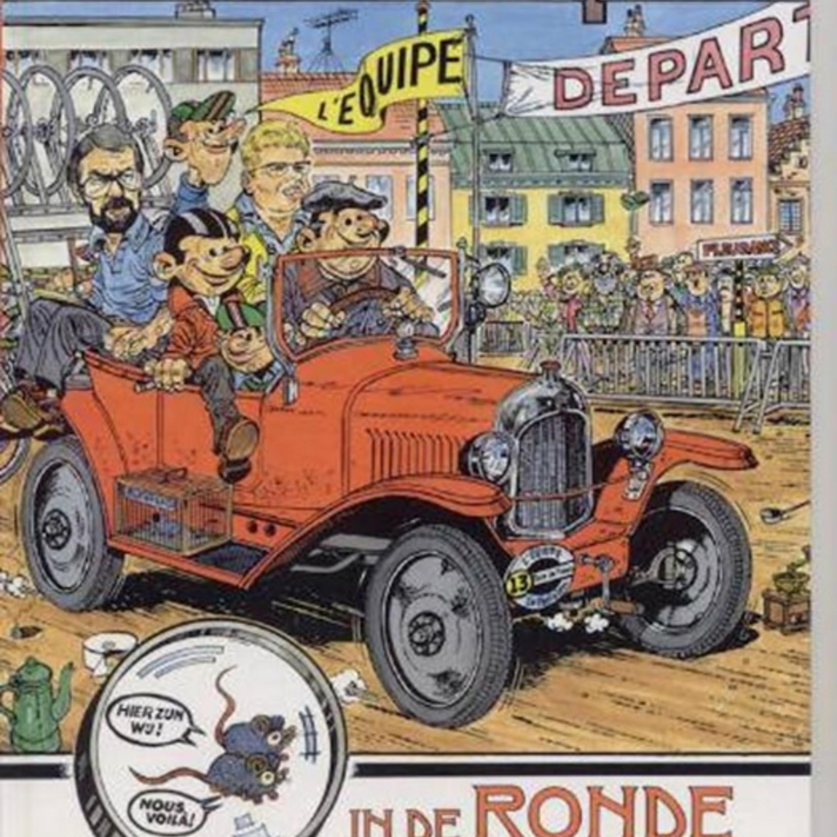 Strip 'Thomas Pips in de Ronde van Frankrijk'