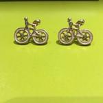 Earrings 'Bike'