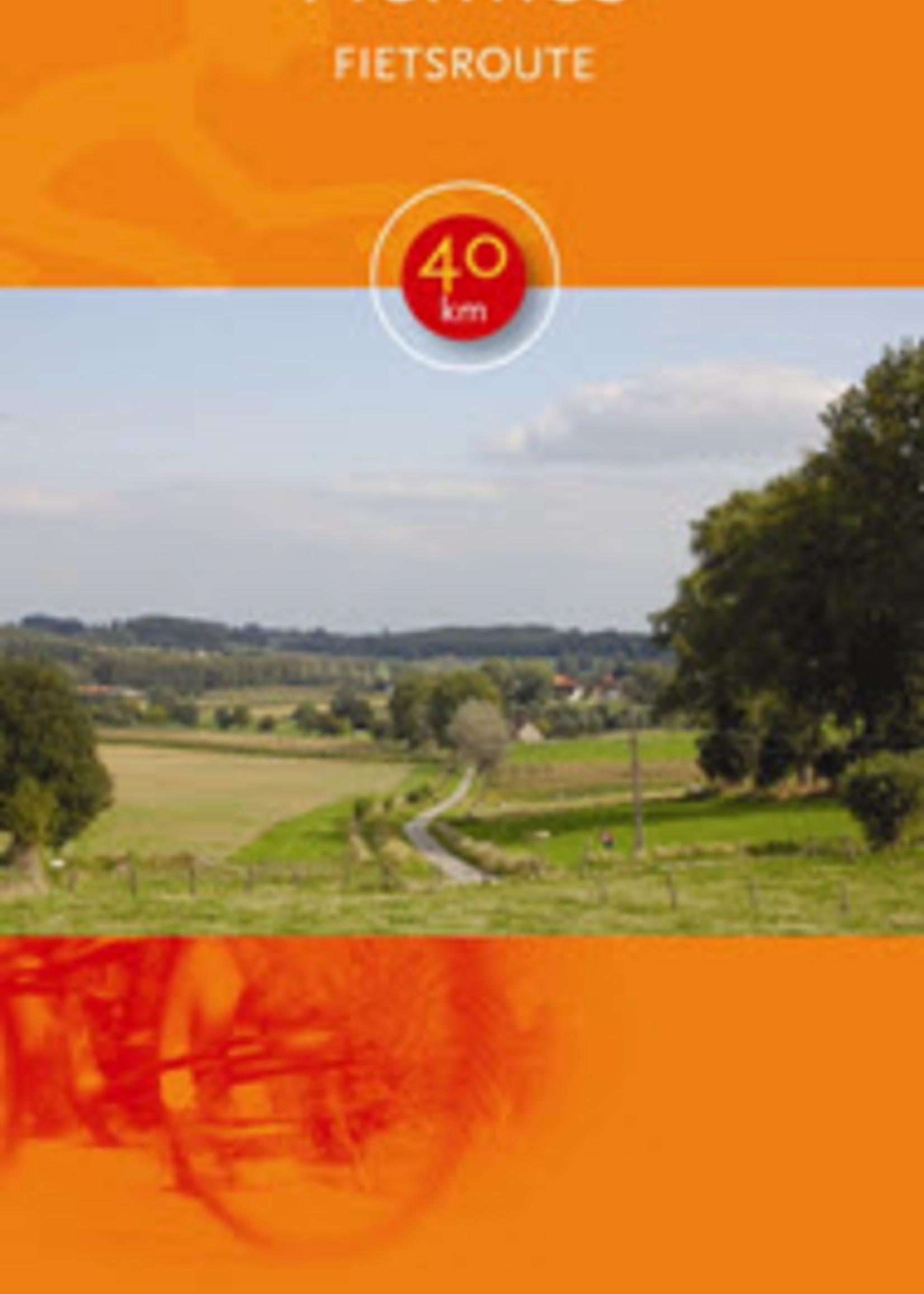 Kaart  fietsroute 'Hermes' (Vlaamse Ardennen) -> 40km