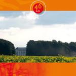 Kaart fietsroute 'Gulden Ei' (Vlaamse Ardennen)-> 46km