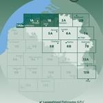 Fietskaart 1 'Oost & West Vlaanderen'