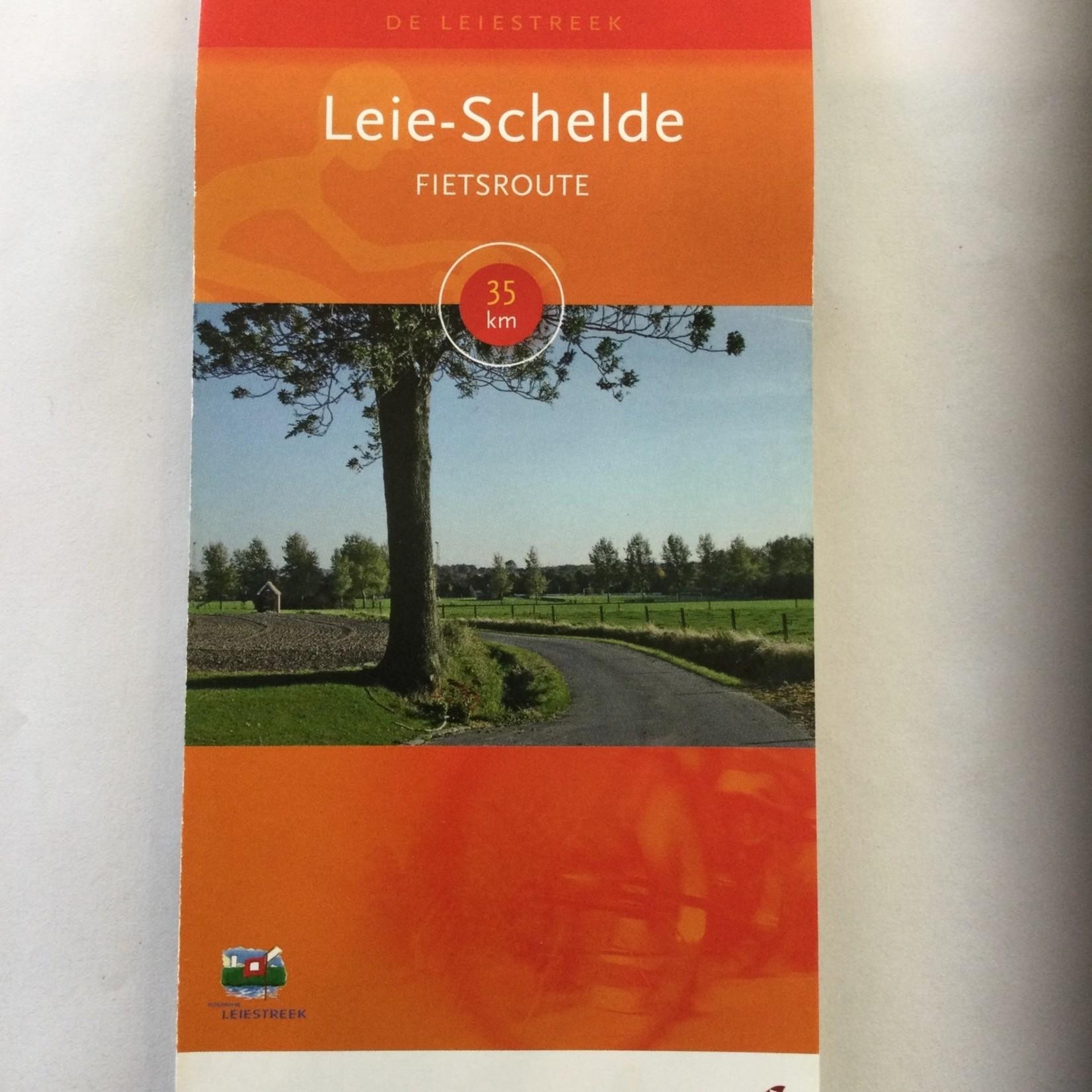 Map (bike) 'Leie-Schelde' (35km)
