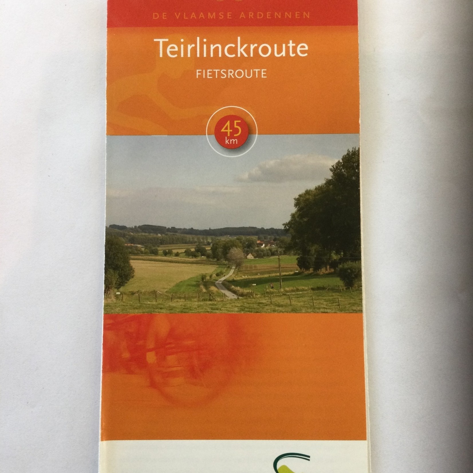 Map (bike) 'Teirlinckroute' (45km)