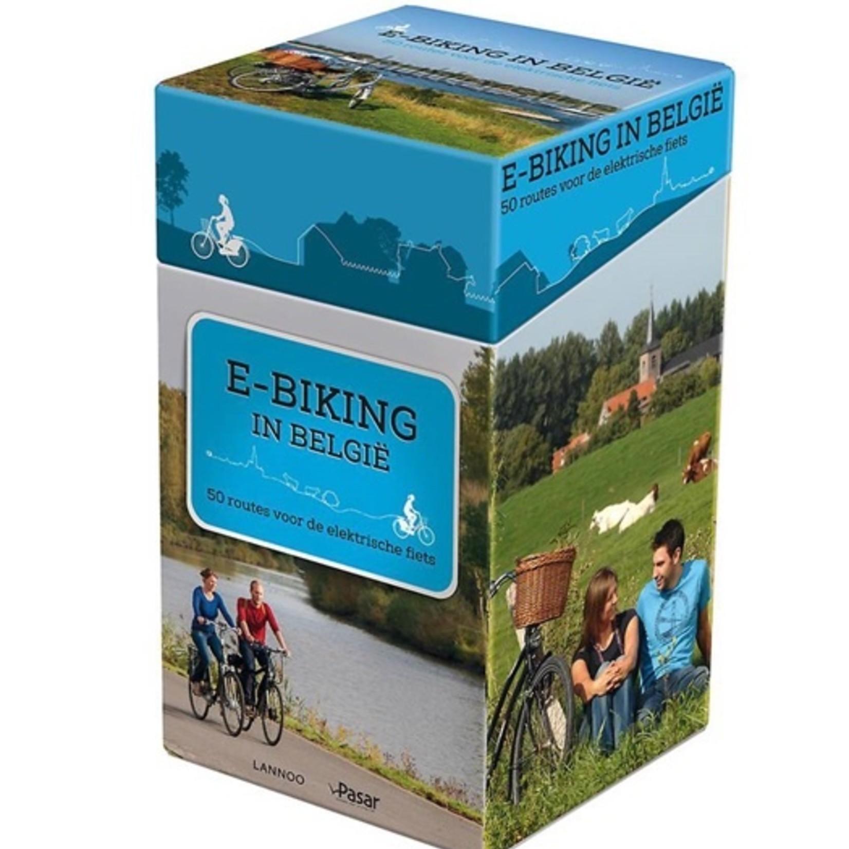 Map 'E-Biking in Belgium'