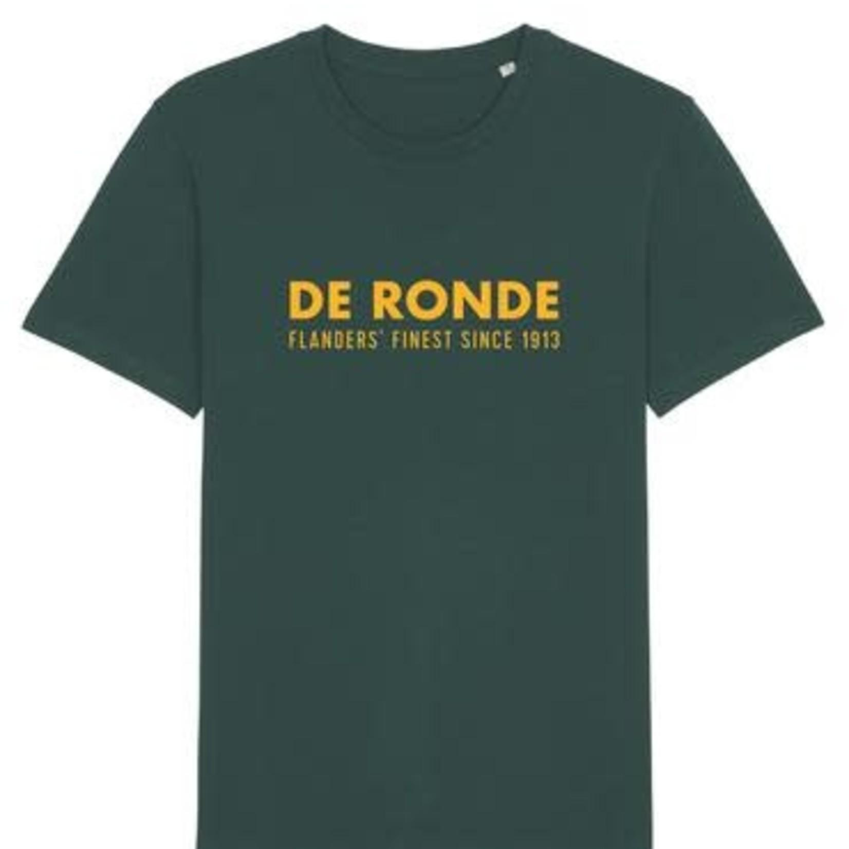 T-shirt 'De Ronde' groen