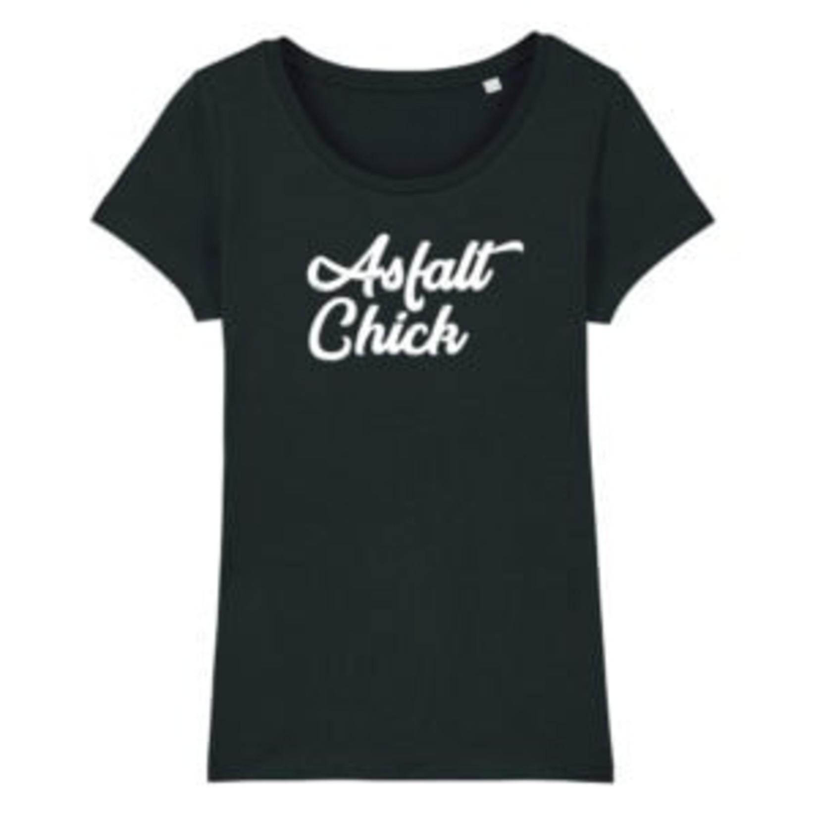 T-shirt 'Asfalt Chick'