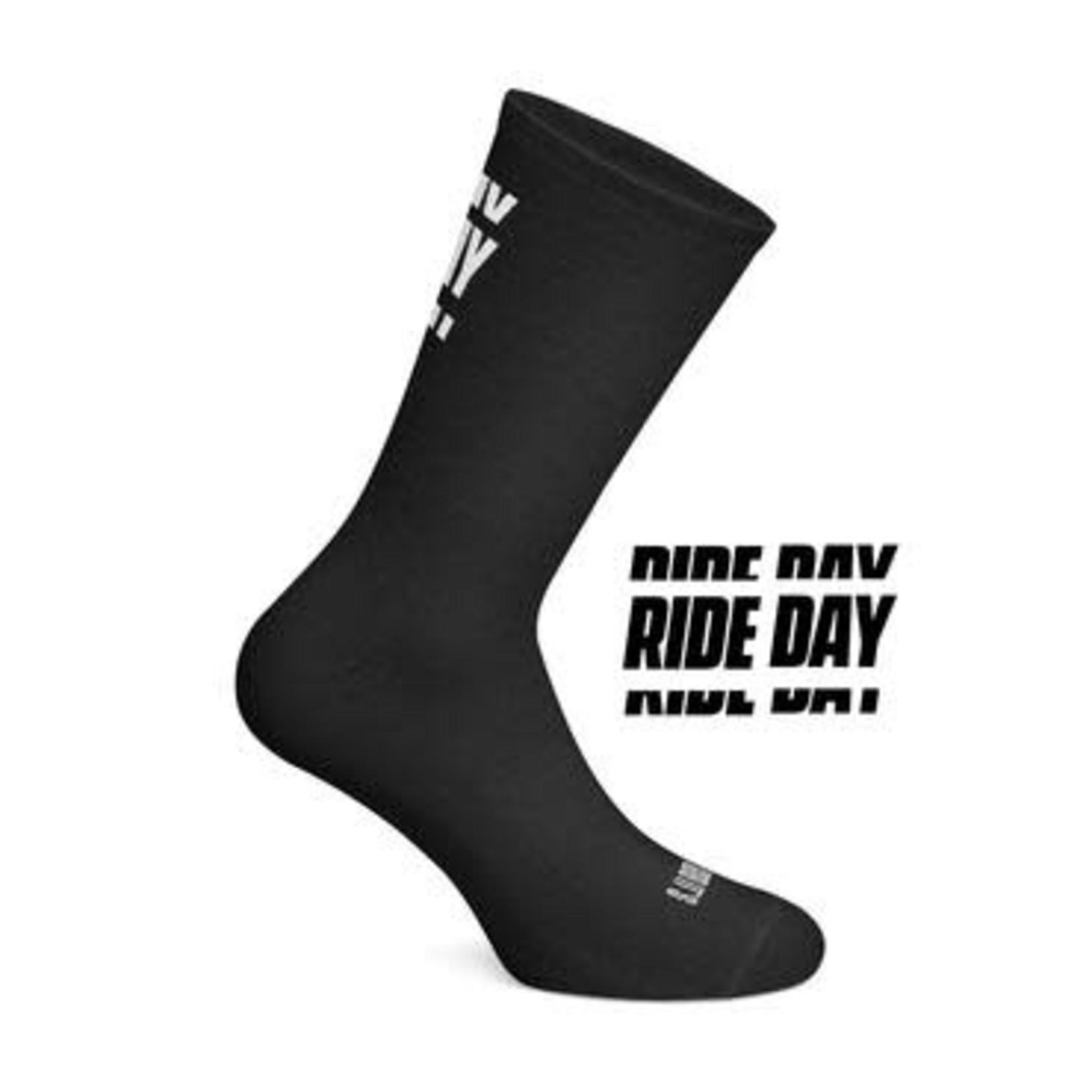 Sokken-'Ride Day' zwart