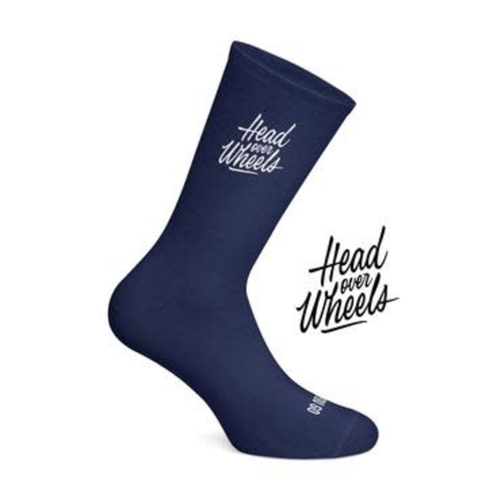 Socks-'Head Over Wheels' navy