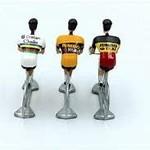 Miniature cyclist 'Cycling hero's Wout VA' (3stuks)