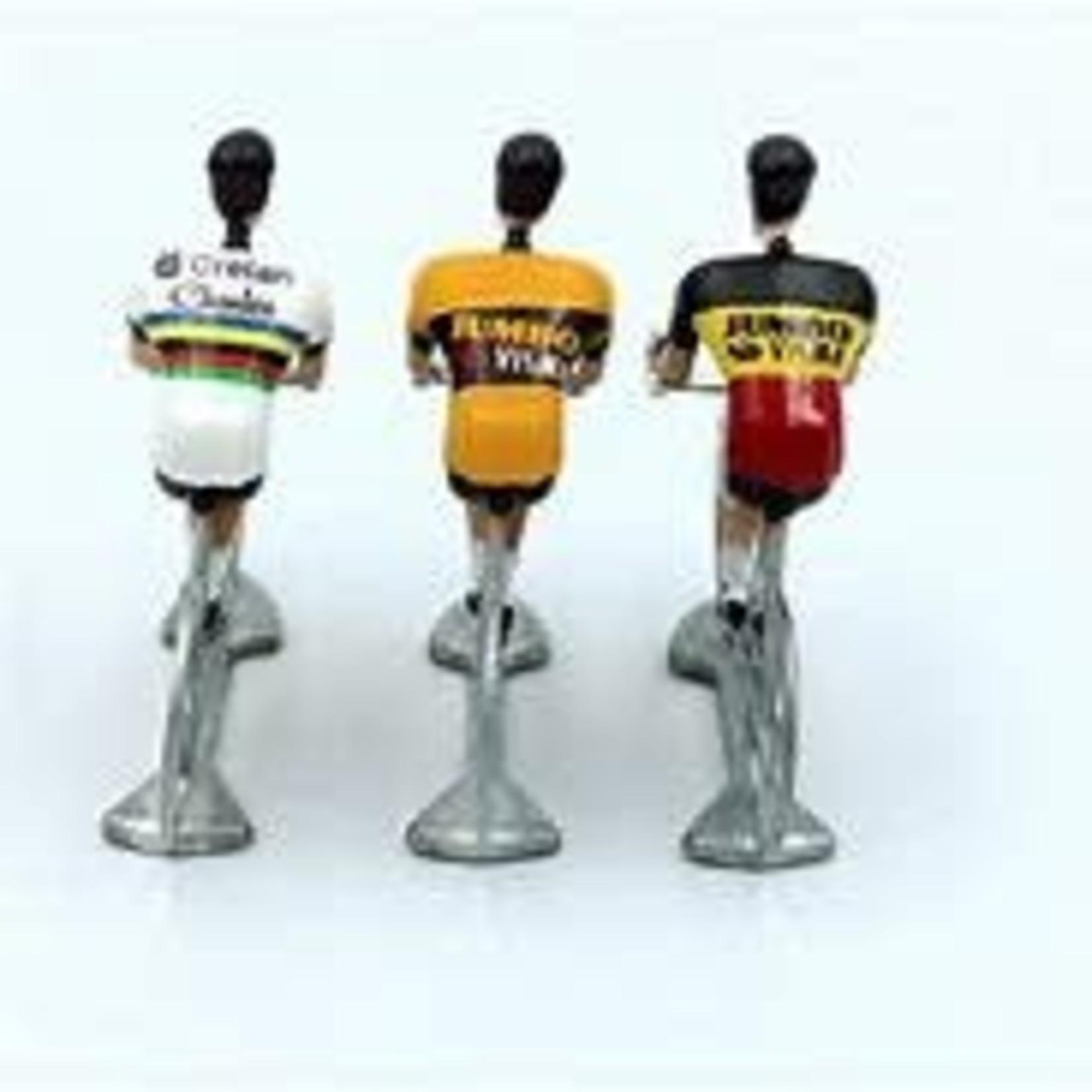 Miniatuurrenner 'Cycling hero's Wout VA' (3stuks)