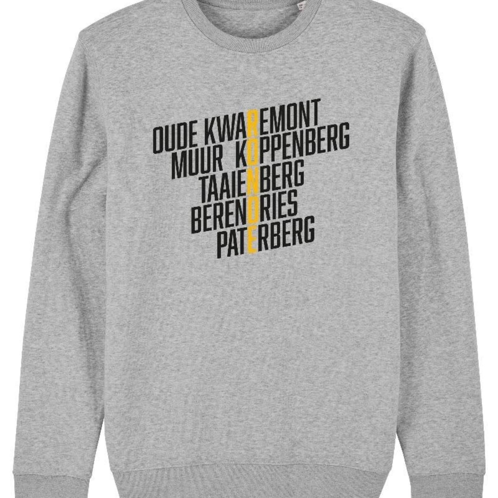 Sweater 'Climbs' grijs