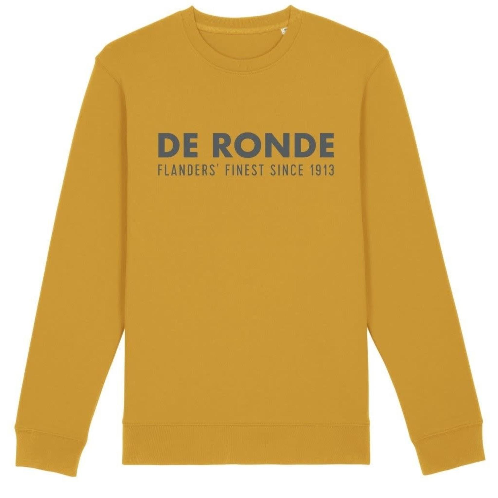 Sweater 'De Ronde' mosterd