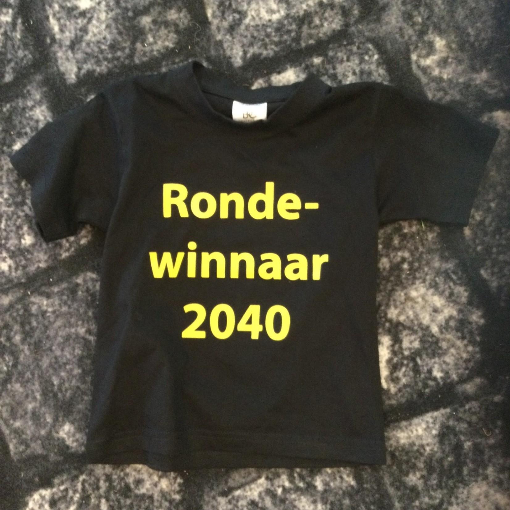 T-shirt' Ronde winnaar 2040'