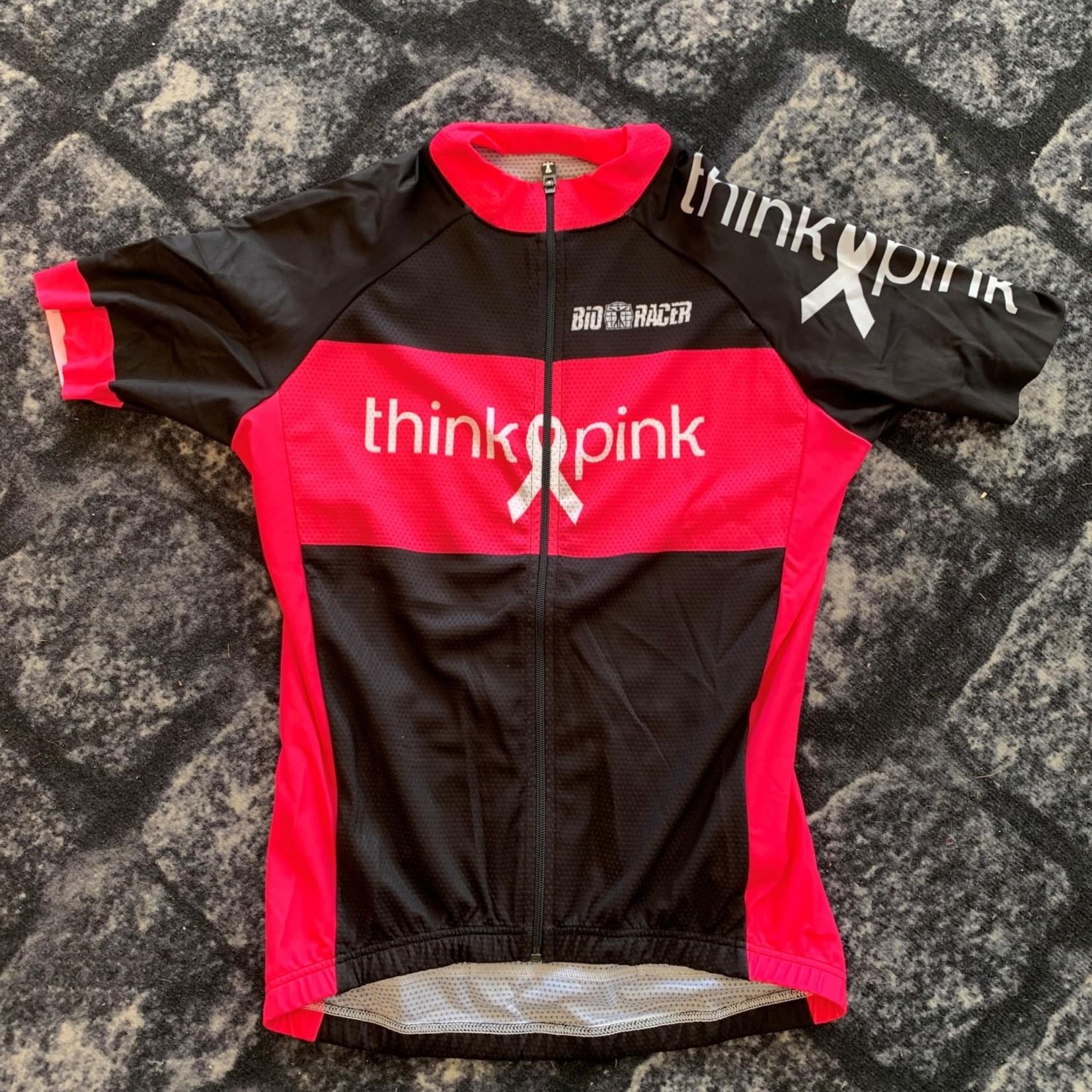Shirt 'Think Pink' roze