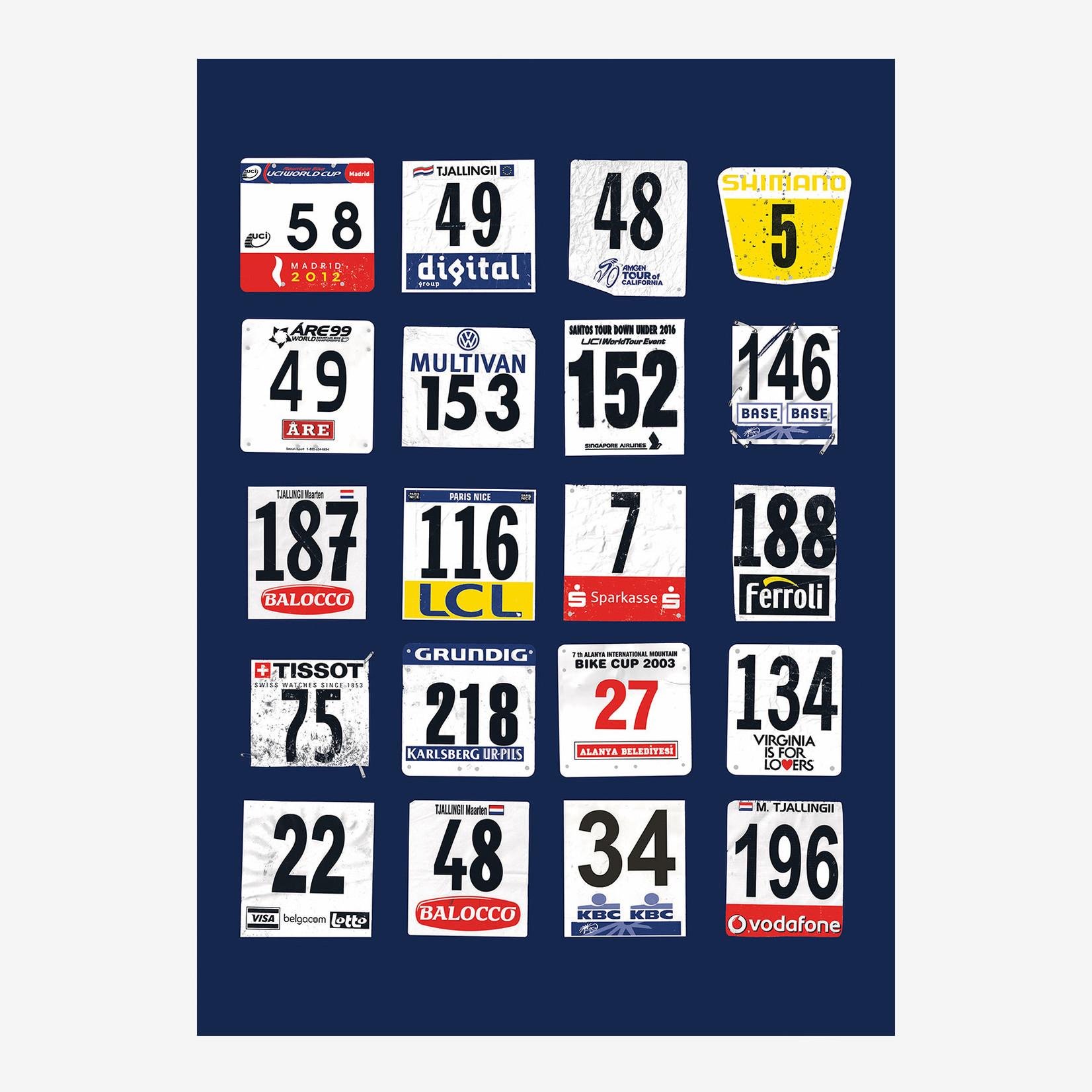 Poster 'Race Day' (Maison du Peloton)