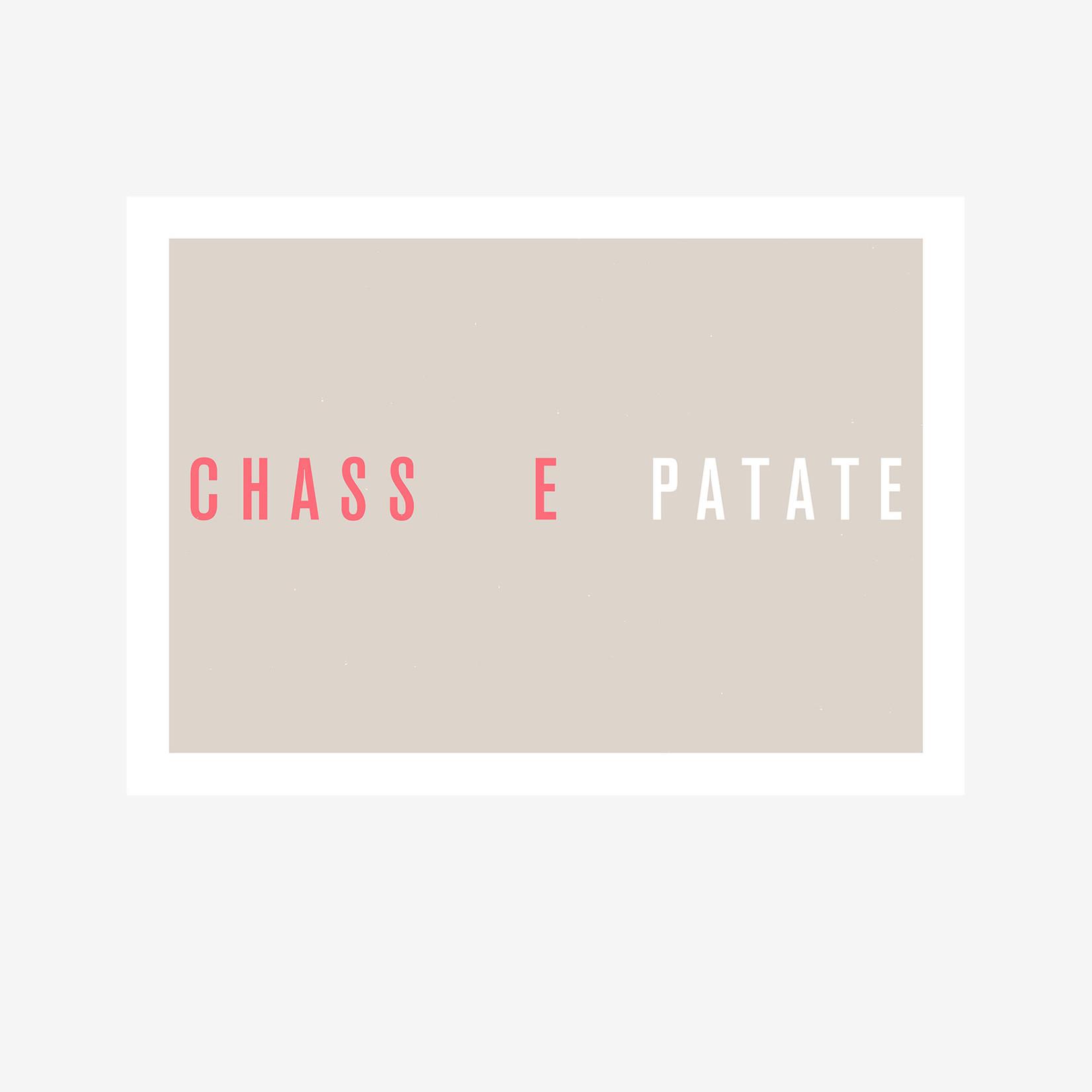 Poster 'Chasse Patate' (Maison du Peloton)