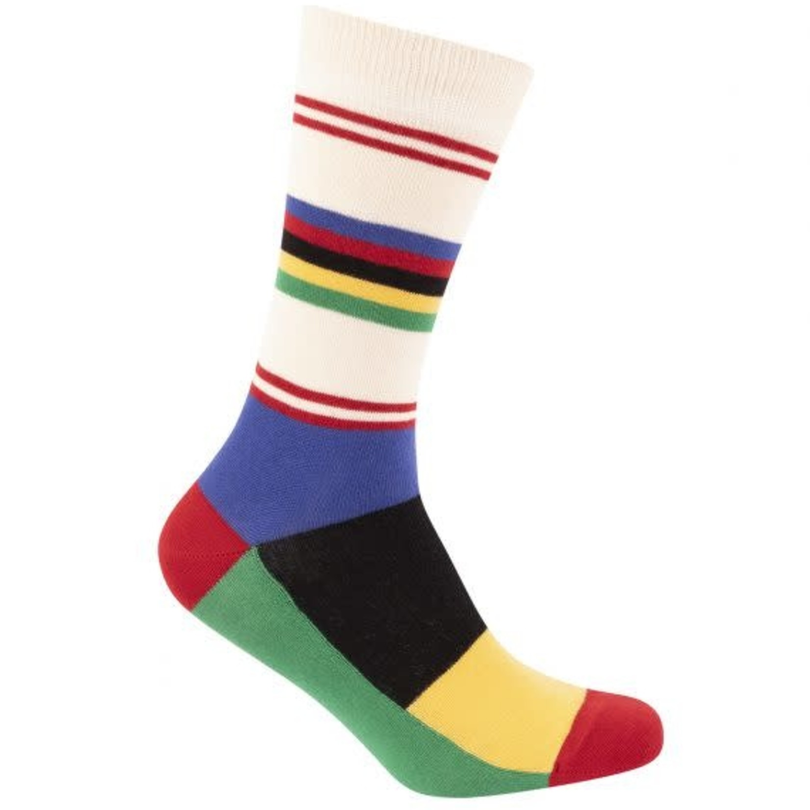 Sokken 'Le Patron' Champion du Monde Stripes