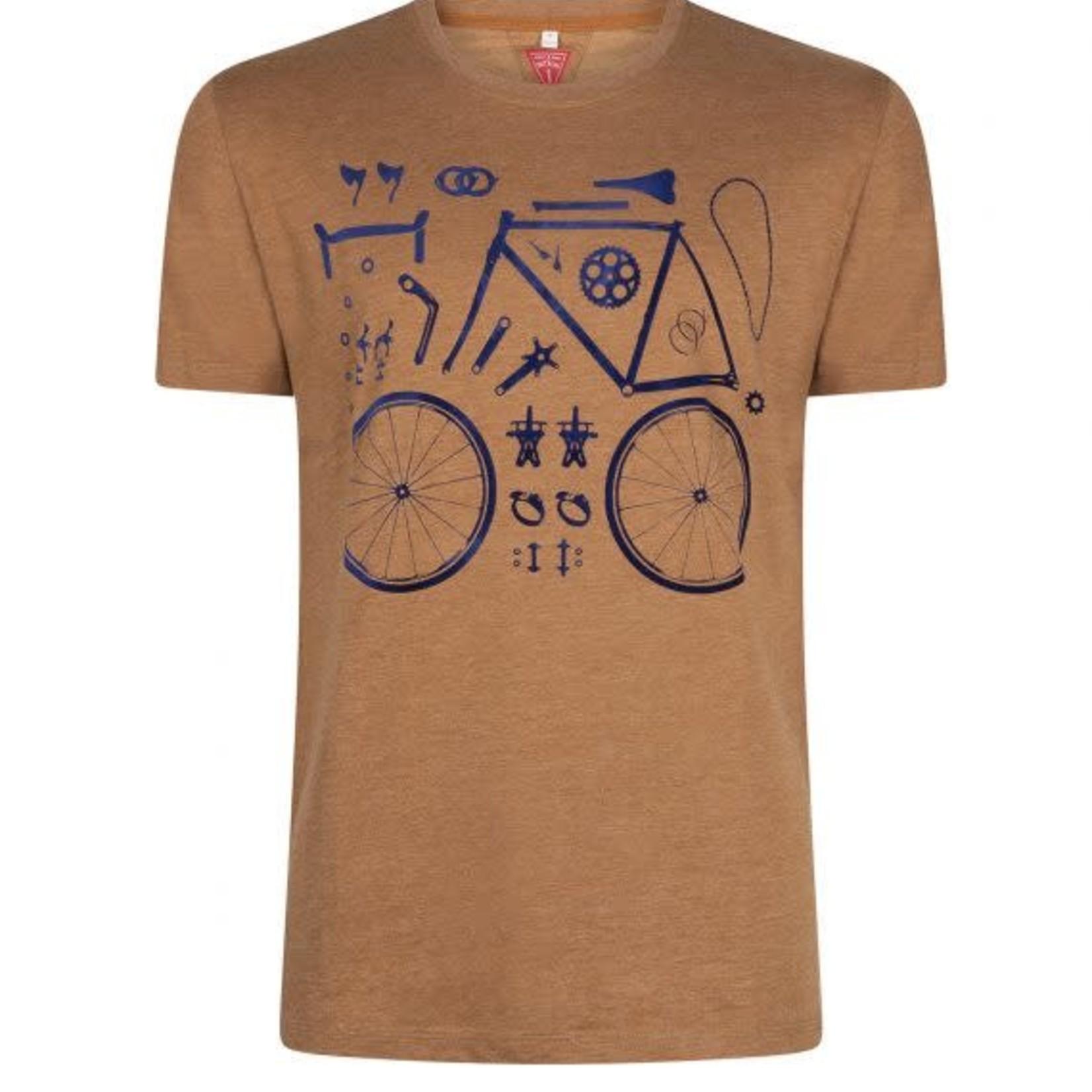 Le Patron T-shirt 'Pieces de bicyclette'