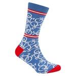 Sokken 'Le Patron' Bicycle socks Rivera blue