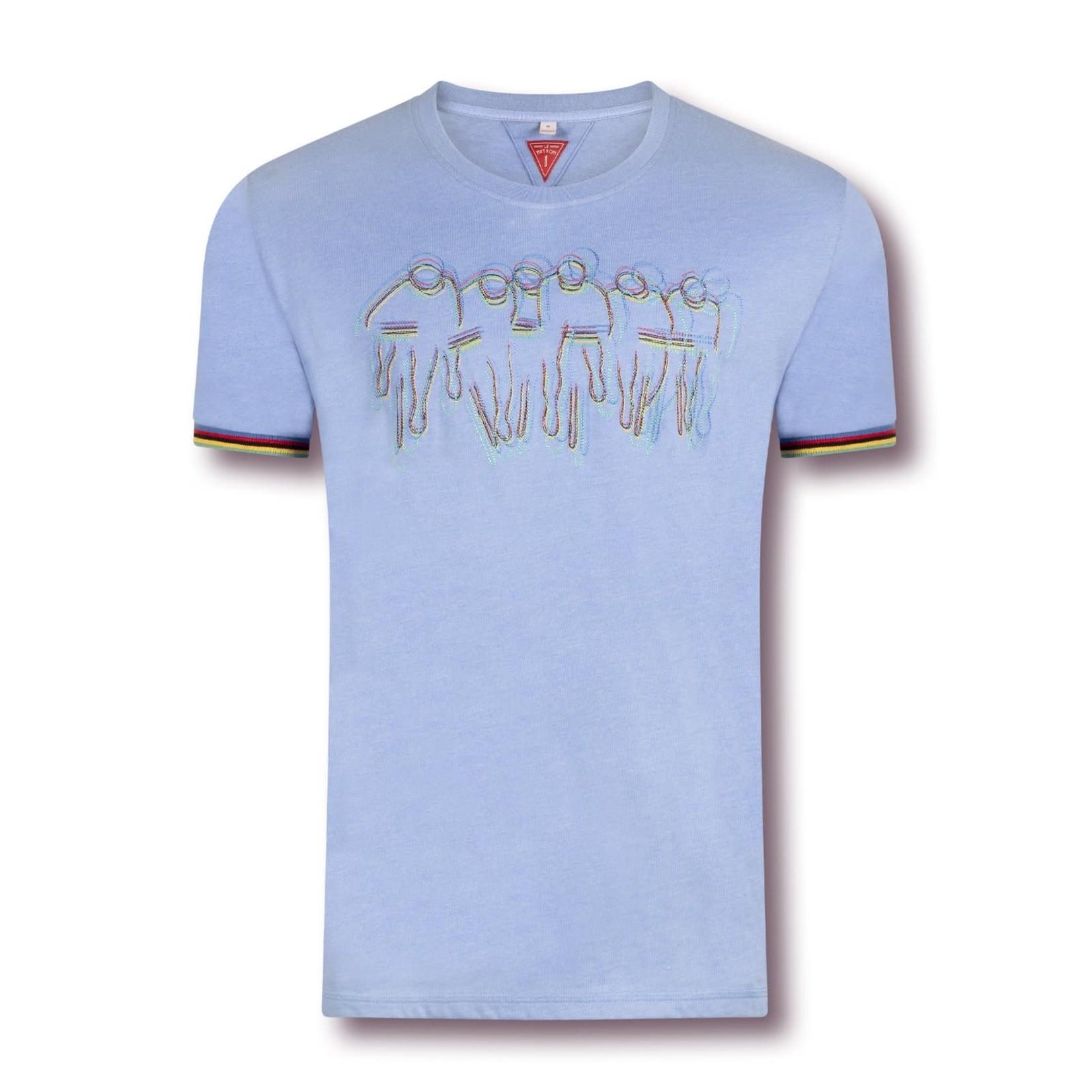 Le Patron  T-shirt 'CdM' blauw